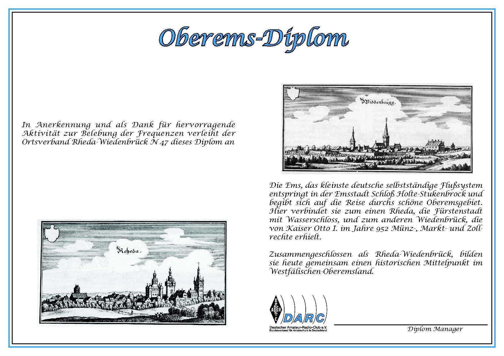 Oberems-Diplom